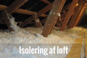 Isolering af loft Odense, Fyn, Middelfart