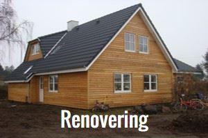 Renovering af hus og sommerhus på Fyn, Odense, Middelfart