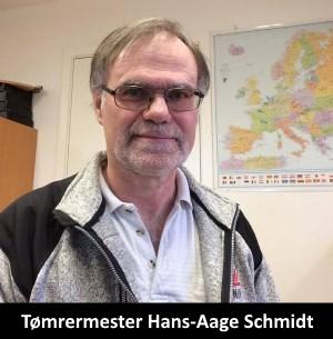 Tømrermester Hans-Aage Schmidt i Ejby på Fyn